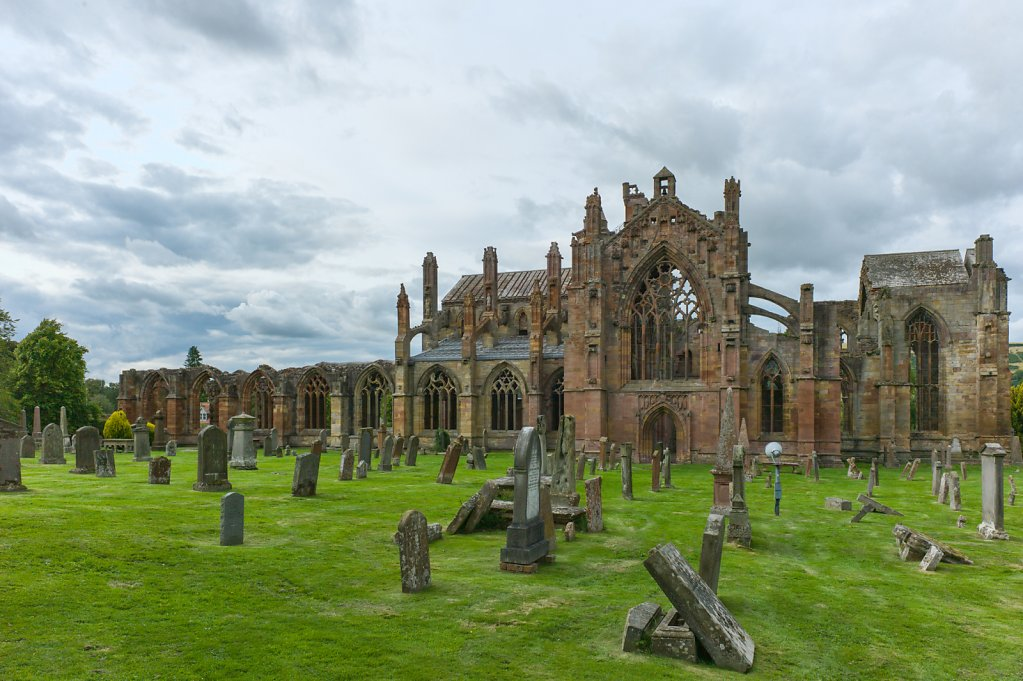 Melrose Abbey, Melrose, Scotland