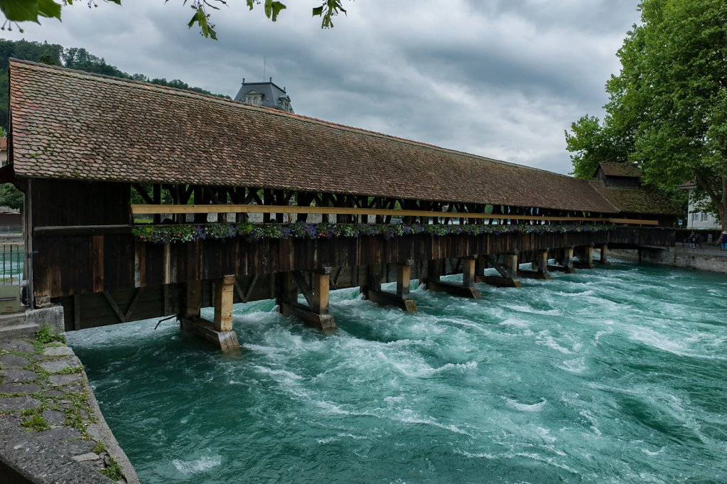Covered bridge in Thun