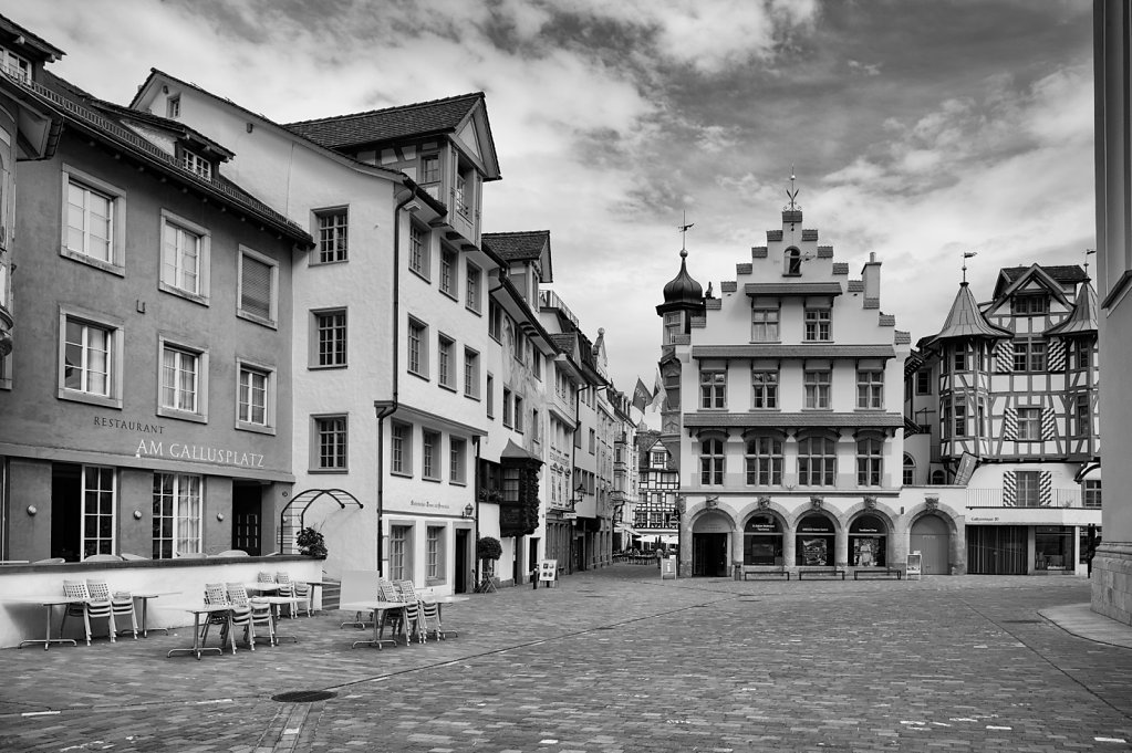 Gallusplatz, St. Gallen, Switzerland