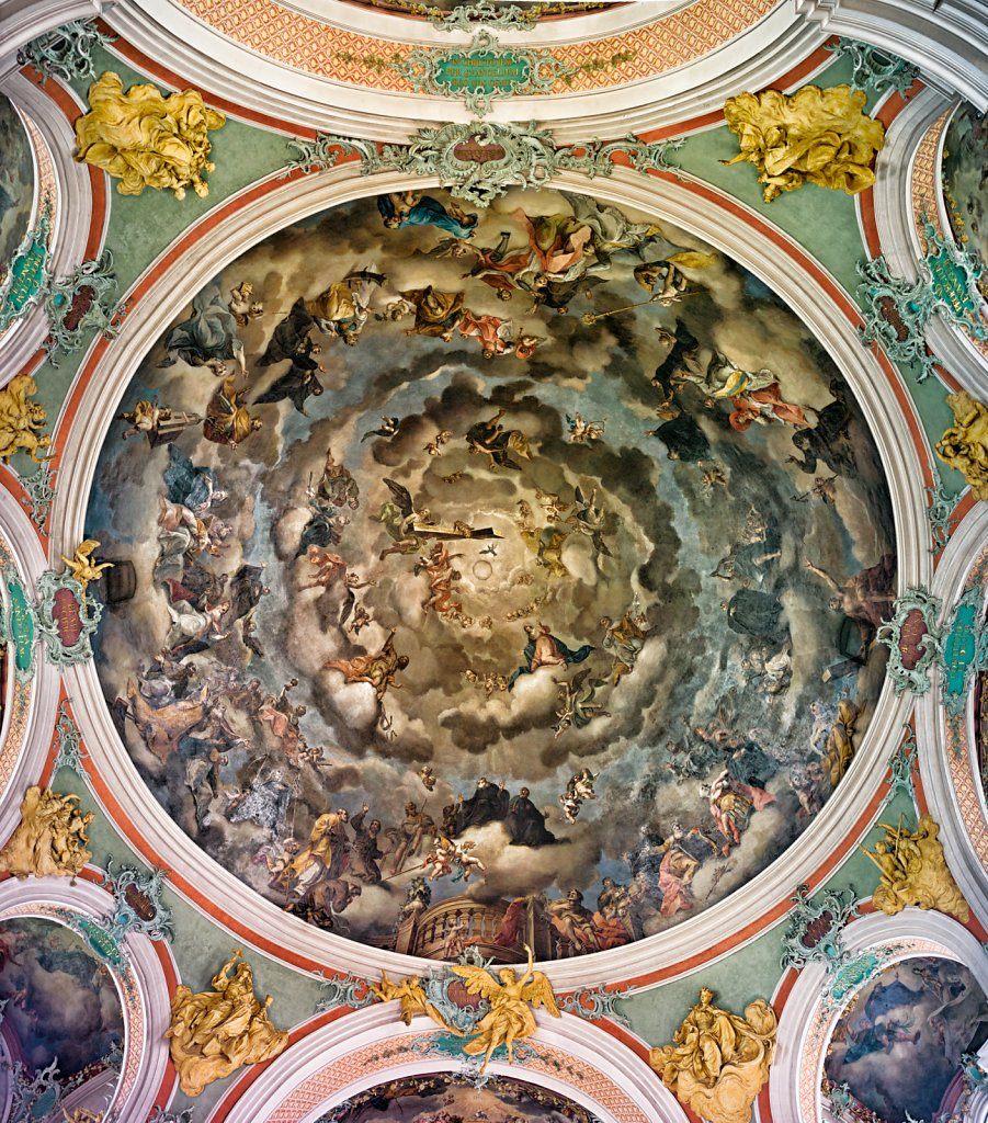 Ceiling of the Abbey of Saint Gall